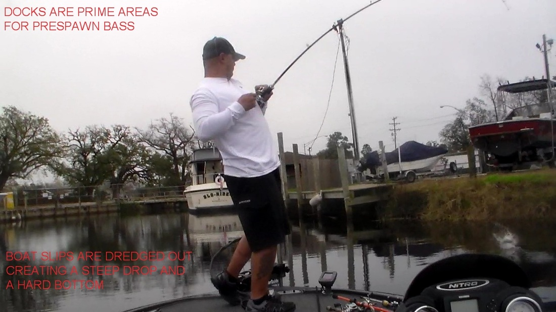 Prespawn bass fishing reports from lake pontchartrain for Rigolets fishing report